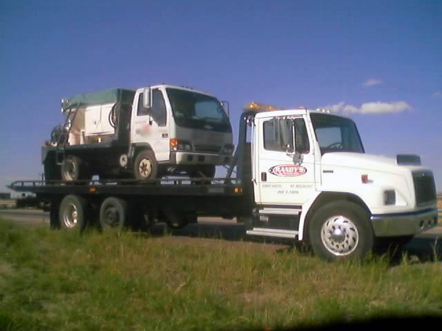 S-10 concrete truck